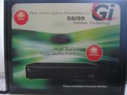Cпутниковый ресивер  GI6199 для просмотра HD-каналов