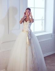 Очень красивое свадебное платье в Полоцке