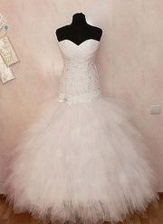 новое свадебное платье в ПОЛОЦКЕ