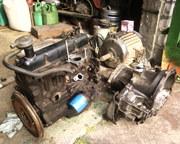 Двигатель 1300 куб.см.КПП 5ст.к Форд-ОРИОН или Эскорт 1988 г.в.