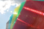 Поликарбонат  прозрачный и цветной
